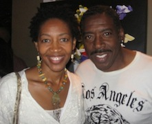 Rhonda and Ernie Hudson